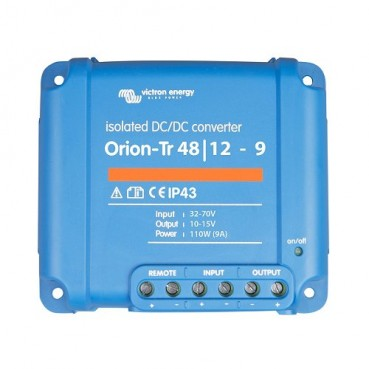 DC/DC-omvandlare Victron Orion-TR 24/12-9A Justerbar