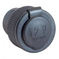Cigguttag 12V 16A infällt med mutter