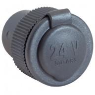 Cigguttag 24V 16A infällt med mutter