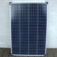 Solpanel 100W 12V Poly