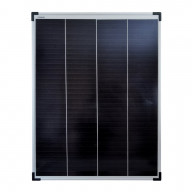 Solpanel 100W 12V, 850 x 670 x 35 mm