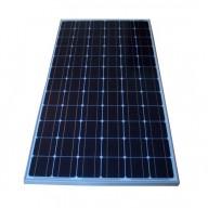 Solpanel, 200 watt, 24 volt, monokristallin
