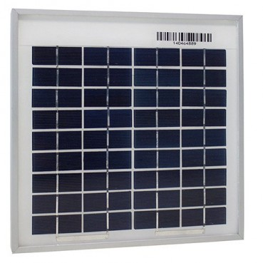 Solpanel 5W 12V