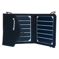 Solcellsladdare 2x3,5W, 5V med USB 1000mA