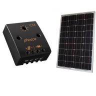 50W solpanel med regulator