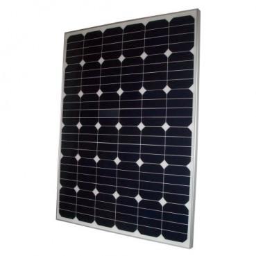 Solpanel, 160 watt, 24 volt, 144 celler