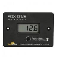 Volt och amperemeter för 12V och 24V, max 20A