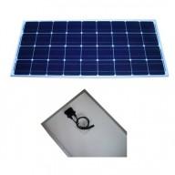 Solpanel, 100 watt, 12V, monokristallin