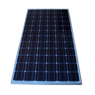 Solpanel, 160 watt, 12 volt, monokristallin