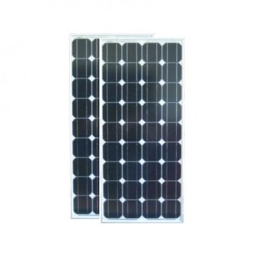Solpanel, 100W i 2-pack, 12V, monokristallin