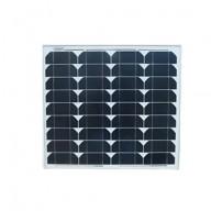 Solpanel,  30 watt, 12 volt, monokristallin