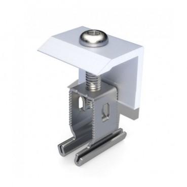Ändklämma Renusol för aluminiumskenor, MS+P & MS+