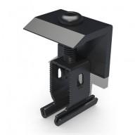 Ändklämma Renusol svart för aluminiumskenor, MS+P & MS+