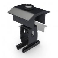 Mittklämma Renusol svart för aluminiumskenor, MS+P & MS+