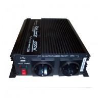 Växelriktare Modifierad sinus 24V 1000W